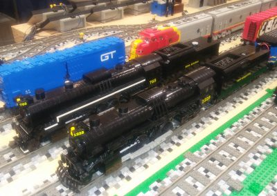 MichLUG at Saline Train Show 2018-02-18 (2)