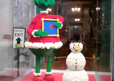 The LEGO Grinch at THF 2009